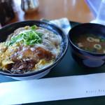 ザ・カフェ - ☆かつ丼セット(#^.^#)☆
