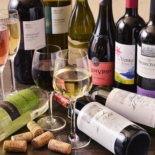ワインを楽しんでもらうために・・・様々な楽しみ方をご用意!!