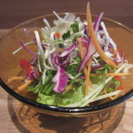 ケロッグ アンド カリー - ランチのサラダ