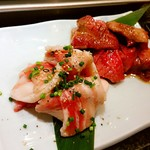恵比寿 英司 - カルビと豚たん♪