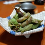 炭火焼 みや澤 - 川北の黒大豆