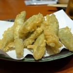 炭火焼 みや澤 - 四方竹天ぷら
