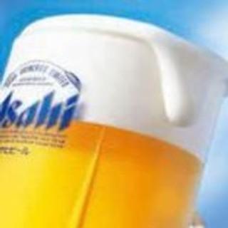 【お得!】生ビールが毎日19時まで190円でご提供!
