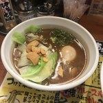 つけ麺 津気屋 - 津気屋焦がしつけ麺 11月限定麺  つけスープ 味玉トッピング