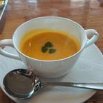 Ristorante Martello - かぼちゃのスープd(⌒ー⌒)!