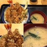 75807999 - 定番の天丼500円(税込)