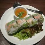 THAIFOOD DINING&BAR マイペンライ - 生春巻き 一本 518円