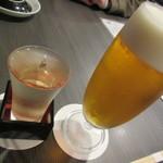 SUSHI BAR THE ƎND -縁戸- - ビールと日本酒