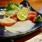 東宝茶屋 - [2017/10]刺し盛り(1600円)