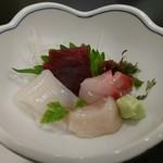 寿司和食しかま - 刺身アップ(4500円コース)