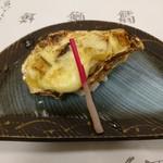 寿司和食しかま - 牡蠣焼き(4500円コース)