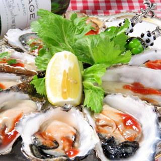 サロマ直送!!新鮮な生牡蠣が1ケ150円!!