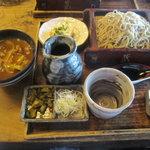 7581385 - お昼のセット(カレー丼ともり蕎麦)