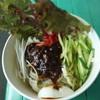 竹國うどん・そば - 料理写真:菊池雄星のじゃじゃ麺830円