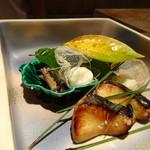 Kokyuu - *「鰆幽庵焼き」「秋刀魚煮」「サツマイモ茶巾」etc