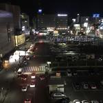 阿波踊り&ミュージック Cafe&Barコティ - 窓際席からの眺め★