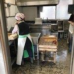 池内うどん店 - 完全に製麺所ですな