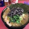 上越家 - 料理写真:大盛ラーメン(¥880)+本日のサービストッピングきくらげとのり(¥100)
