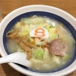 8番らーめん - 料理写真:野菜ラーメン 塩