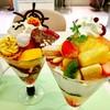 タカノフルーツパーラー - 料理写真:ハロウィンパフェ、クリーミーフルーツパフェ