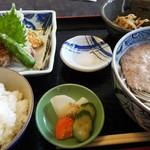 山水茶寮 - 料理写真:山かけそば定食   1250円