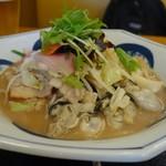 リンガーハット - 料理写真:「かき ちゃんぽんみそ」
