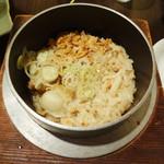 和風創作料理ぼんまり - 北海道釜めし。