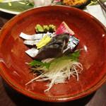 和風創作料理ぼんまり - しめ鯖。