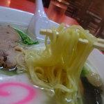 泰陽楼 - 麺のアップ