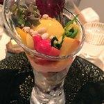 75820074 - 野菜のパフェ