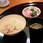 祇園 なん波 - 御飯・汁・香物