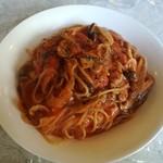 キッチン おねおね - しいたけのトマトスパゲティ¥1,200