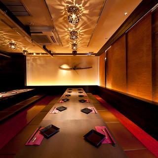予約必須!◆プライベート感のある完全個室空間◆団体様大歓迎!