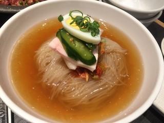 一龍 - 自家製手打ち冷麺(中)(¥890)