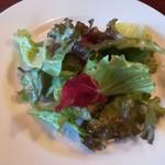 イタリア倶楽部 - 日替りランチのサラダ