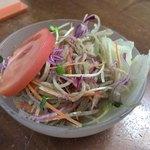 専心庵 - 蕎麦ずくしのそばサラダ
