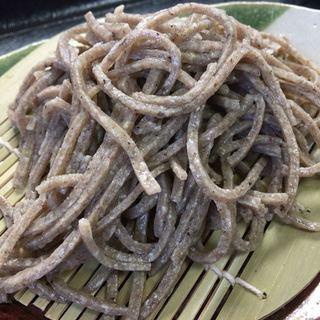 専心庵 - 料理写真:限定 十割粗挽き蕎麦(上村下栗産。手刈り天日干し)