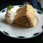 喫茶 虫の音 - 料理写真:紅茶のシフォンケーキ