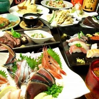 旬の魚を使った和食宴会料理