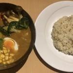 75830466 - 野菜スープカレー ¥950