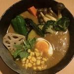 75830469 - 野菜スープカレー ¥950