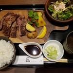 75830498 - リブロース定食(2000円)