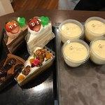 旬菓処福田屋 - 苺のショートケーキ、いちごのチョコショート、かぼちゃのチーズケーキ、栗のごろごろタルト、こだわりプリン