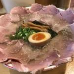 75830978 - 「大盛麺焼煮豚増」1,200円