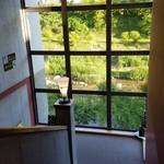 レストラン楓 - 百年草の部屋からの様子