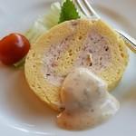 レストラン楓 - ほわっほわの食感の「小さなオードブル」