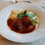 レストラン楓 - 「国産牛肉のトマト煮込み」
