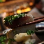 WHISKY&WINE BAR96 - 鯖の炙り押し寿司