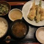 75833188 - 金曜日限定  天ぷら定食 1500円