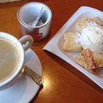 75835115 - ホットコーヒー&フレンチトースト